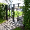 Newton Road New Art Deco Pedestrian Access Gates