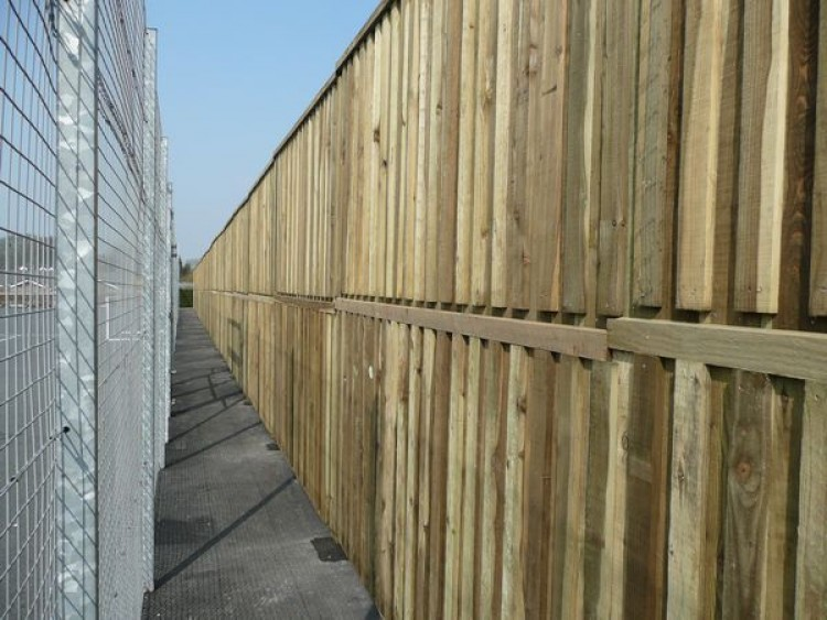 Acoustic Sound Barrier Fencing